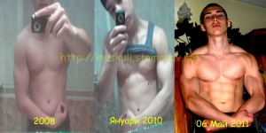 Прогреса през годините