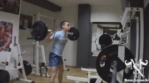Тренировка за крака