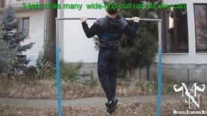 Stamenov pull ups